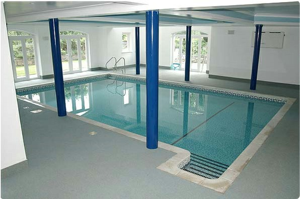 Renovation of Flood Damaged Swimming Pool